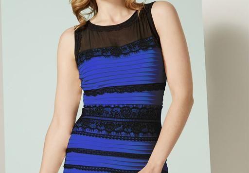 Ist dieses kleid weiß-gold oder blau-schwarz?