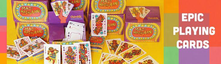 Playing Cards, Designer Made Playing Cards :: Chumbak