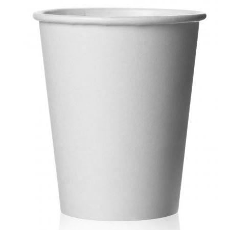 Стакан бумажный для горячих напитков 185 мл. (Белый), бумажные стаканчики для кофе, купить, с крышкой, оптом, изготовление, цена