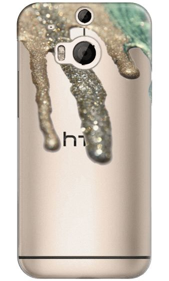 Casetify HTC One M8 Classic Snap Hülle - LIQUID GOLD $ 40 Crystal Clear Case for HTC ONE by Monika Strigel #Casetify