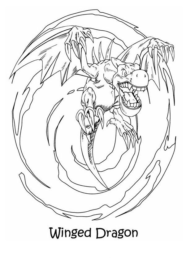 Free Printable Yugioh Coloring Pages For Kids Dragon Coloring Page Coloring Pages Cartoon Coloring Pages