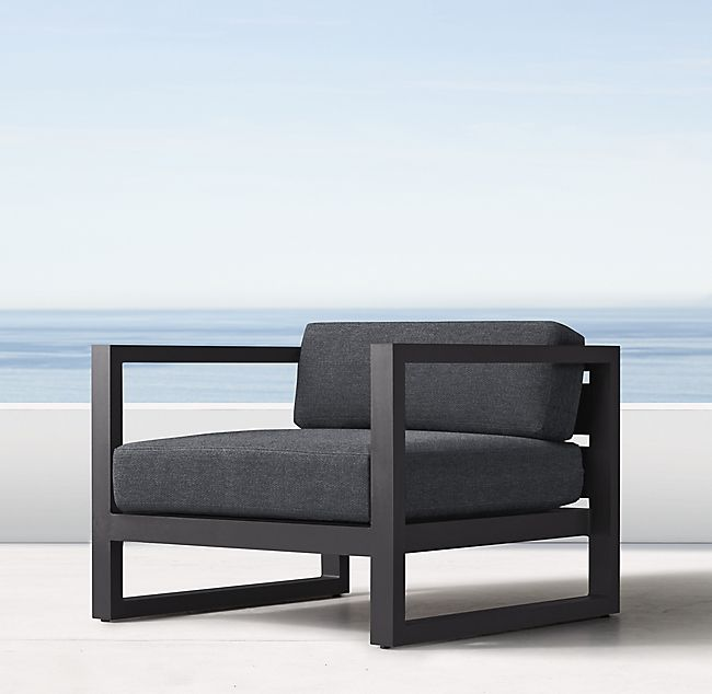 Aegean Aluminum Luxe Lounge Chair