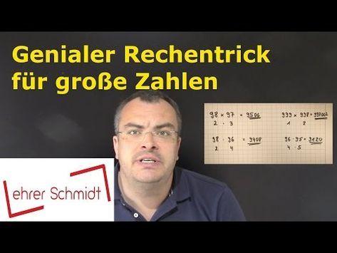 GEHEIM!! Multiplizieren – Die Lehrervariante – geniales Kopfrechnen – superschnell   Mathematik – YouTube – Christel Sauer