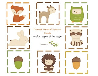 Free Printables Woodland Animals Forest Friends Party