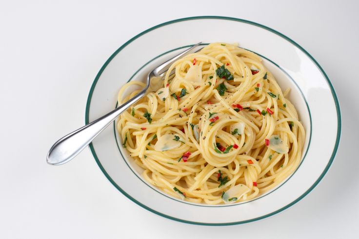Spaghetti aglio olio peperoncino