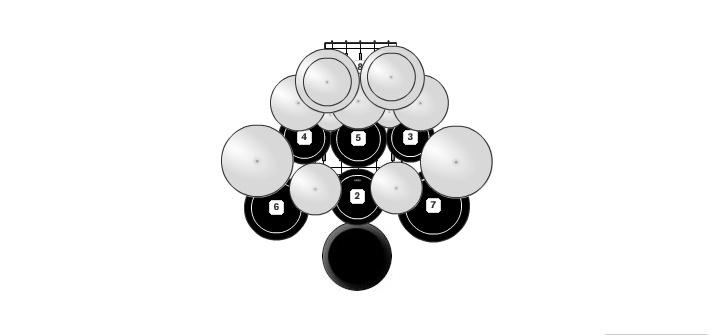 Drum Set With Images Drums Drum Set Measuring Spoons