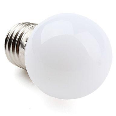 LED-glödlampa med Varmt Vitt Ljus - E27 1W 50-80LM 2800-3300K (220-240V) – SEK Kr. 23