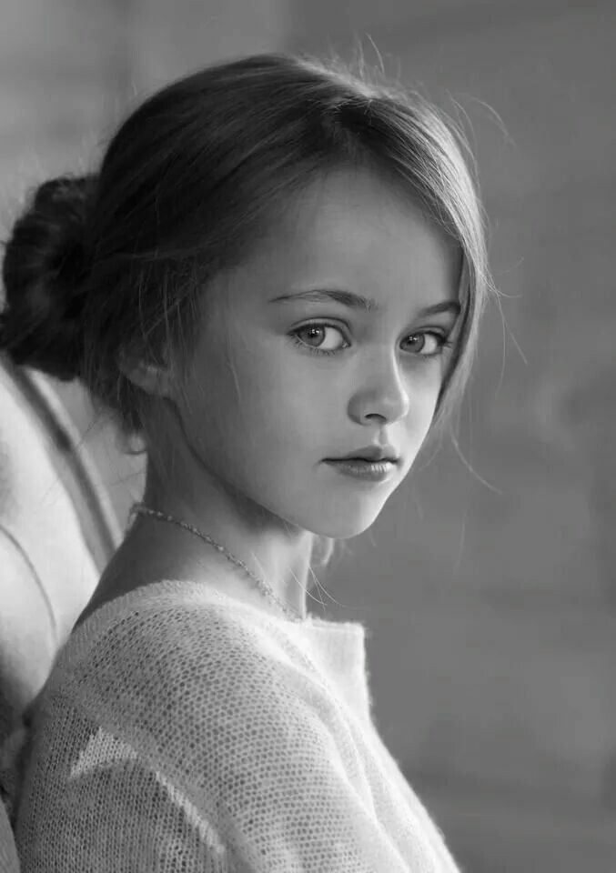 Kristina Pimenova - young child model from Moscow, Russia