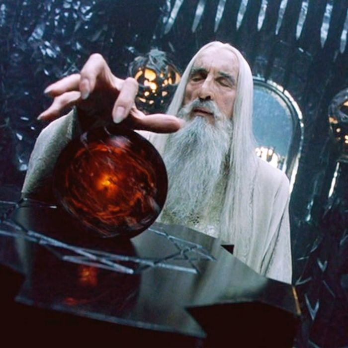 Saruman (Cristopher Lee)