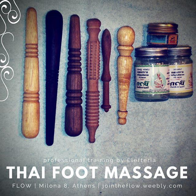 Wooden tools and Thai balms for #ThaiFootMassage Love it!   #ThaiMassage #ThaiYogaMassage #YogaTherapy #LearnMassage #Massageschool #massagetools #holistichealing #naturalhealing #alternativemedicine #Reflexology