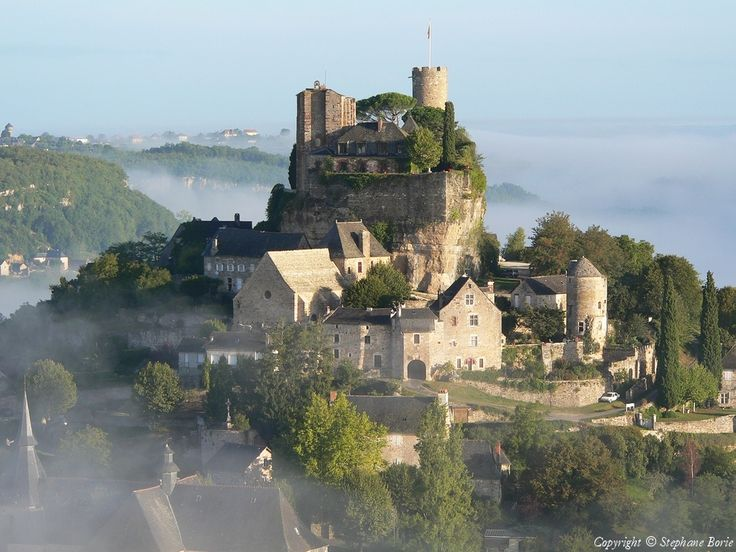Photo aérienne de Turenne - Corrèze (19)