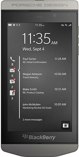 #BlackBerry Porsche Design, P 9982,4.2 Inch Display,Dual Core 1.5 GHz, Qualcomm CPU, 2 GB RAM, 8 MP, BlackBerry 10 OS