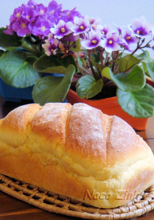 Pão doce de milho » NacoZinha - Blog de culinária, gastronomia e flores - Gina