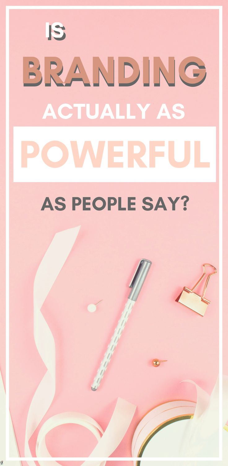 Have you ever wondered if branding your blog or business is actually as powerful as people say it is? Wonder no more! Read this post to find out if branding is actually important or if it's simply a myth!
