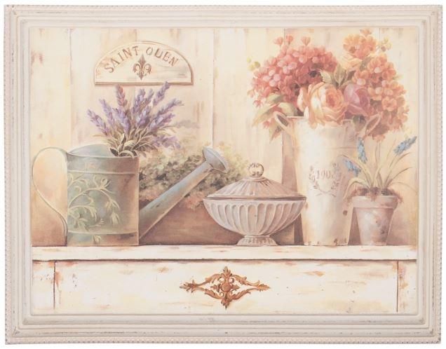"""Cuadro """"Saint Quen"""", ideal para la cocina Medidas: 46 * 36 cm"""