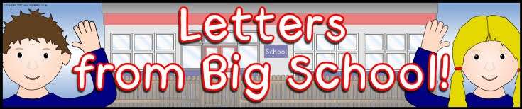 Letters from Big School display banner