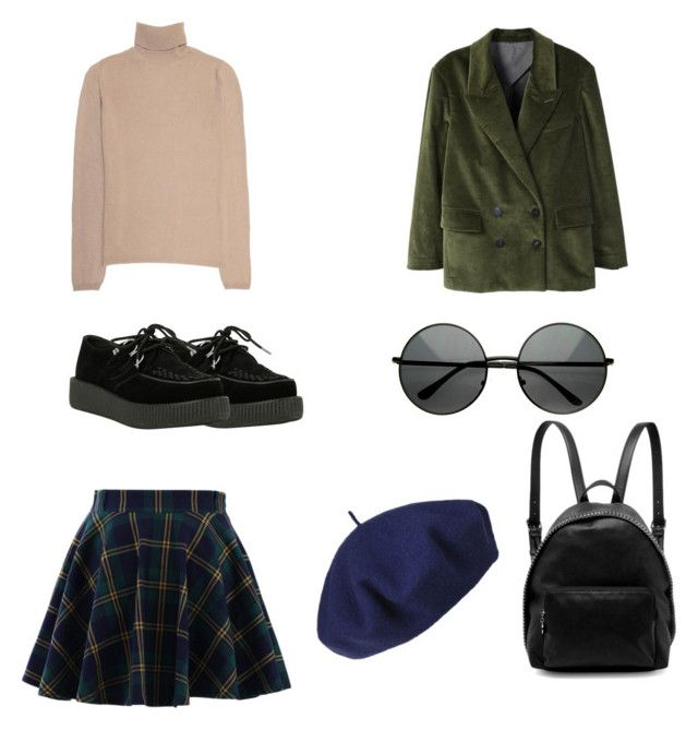 """Untitled #18"" by shanisiavniel on Polyvore featuring Chicwish, Jil Sander, T.U.K., STELLA McCARTNEY, Betmar and MANGO"