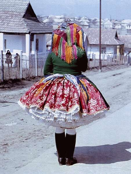 "HUNGARY | woman in traditional dress, Rimóc, Nógrád County. 1969. [book: ""Nógrád Megye Népművészete"", photo © Zólyomi József] http://library.hungaricana.hu/en/view/MEGY_NOGR_Sk_03"