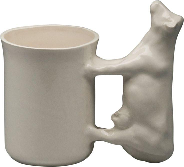 Belinda Berger Galerie - zeitgenössische Keramik & Kunst aus England | Shop-Produkt: Tasse mit Kuh | cow cup