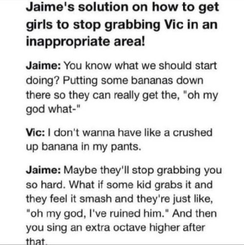 this is why jaime is a beautiful person