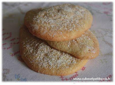 Mon premier biscuit à la cuillère - Cubes et Petits pois