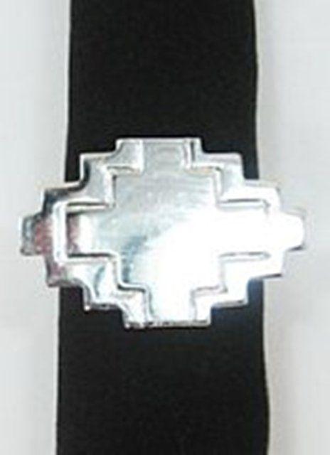 Southwestern Silver Adobe Napkin Rings