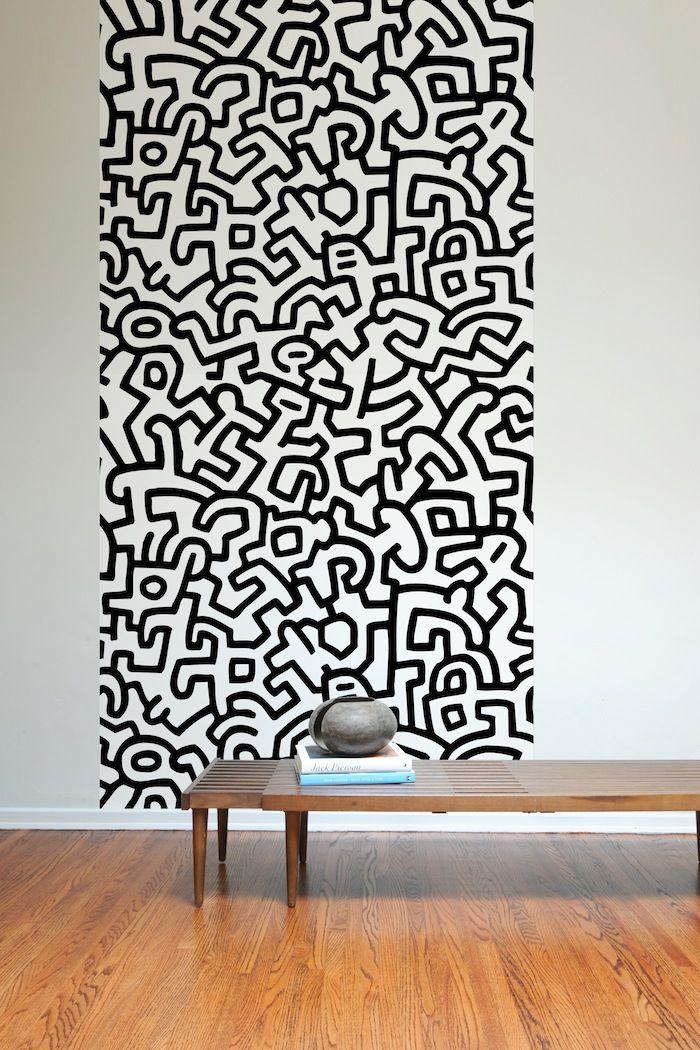 $78 Keith Haring Carta da Parati