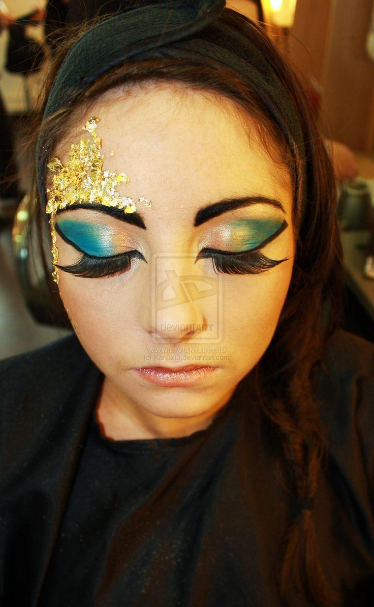 18 best Egyptian Makeup images on Pinterest | Egyptian eye makeup ...