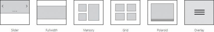archive layouts