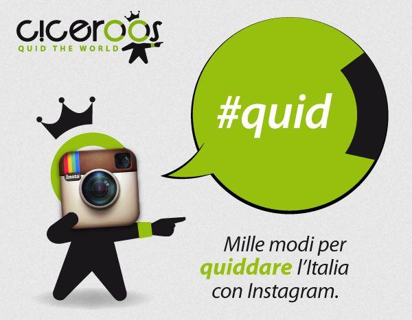 #CicerOOs  #Quid #Instagram #visualizzazioni #blog #CicerOOni #luoghi