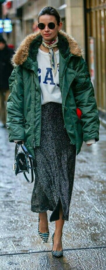 Now that's street style!