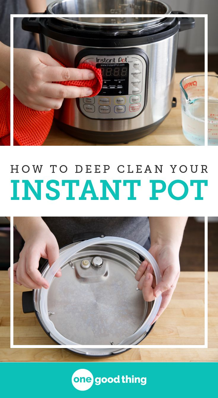 Part of being a good Instant Pot owner is keeping it clean! I'm sharing how to keep it clean after everyday cooking, as well as step-by-step instructions for how to deep clean your Instant Pot.