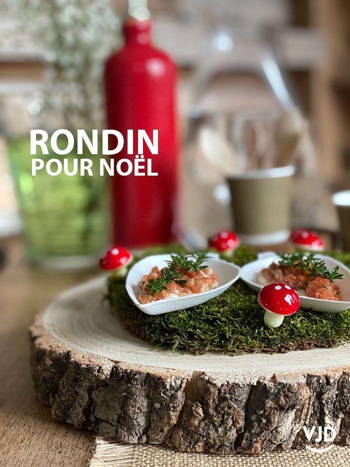 Rondin De Bois Centredetablenoelbois Centre De Table En Rondin