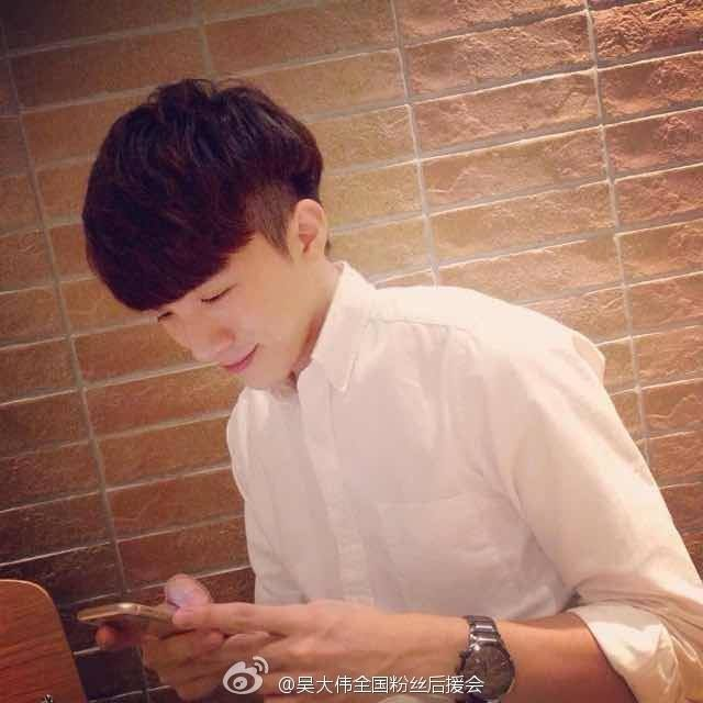 Love him in the white shirt :))