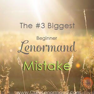 Are you making this mistake when reading the Lenormand Ring card? It's the biggest mistake beginner Lenormand readers make when learning Lenormand meanings.