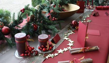Décorer une table de Noël  Merry Christmas!!!  Pinterest