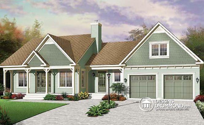 Plan de maison no. W3620 de dessinsdrummond.com
