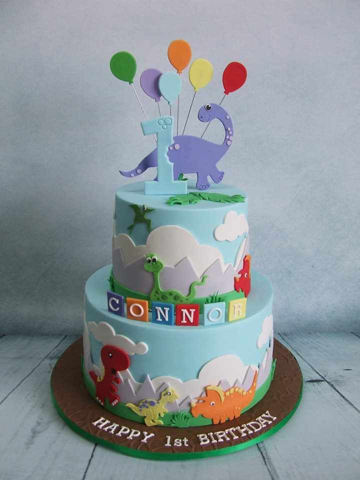 8 best Dinosaur bday images on Pinterest Dinosaur cake Birthday