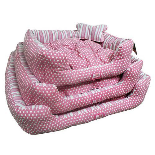 Si lo tuyo es el rosado ¡Esta cama es para tu mascota!   S (62x50x18 cm), rebajada a $22.500 desde $26.000: http://bit.ly/CAP_CC_RP_S  M (72 X 60 X 18), en oferta a $27.500, rebajada desde $32.000: http://bit.ly/CAP_CC_RP_M  L (82x70x18 cm), rebajada a $33.900 desde $41.000: http://bit.ly/CAP_CC_RP_L