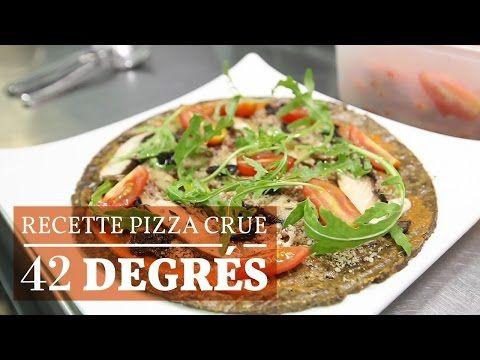 Recette de la Pizza Crue - 42 degrés - YouTube