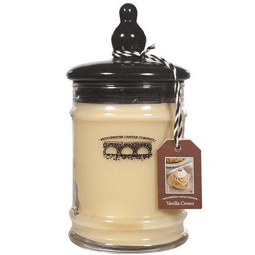 Bridgewater Candle 8 Oz. Jar - Vanilla Cream