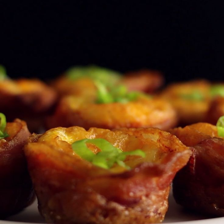 Think of this as a bacon, egg and cheese sandwich, but in bite-sized muffin form.