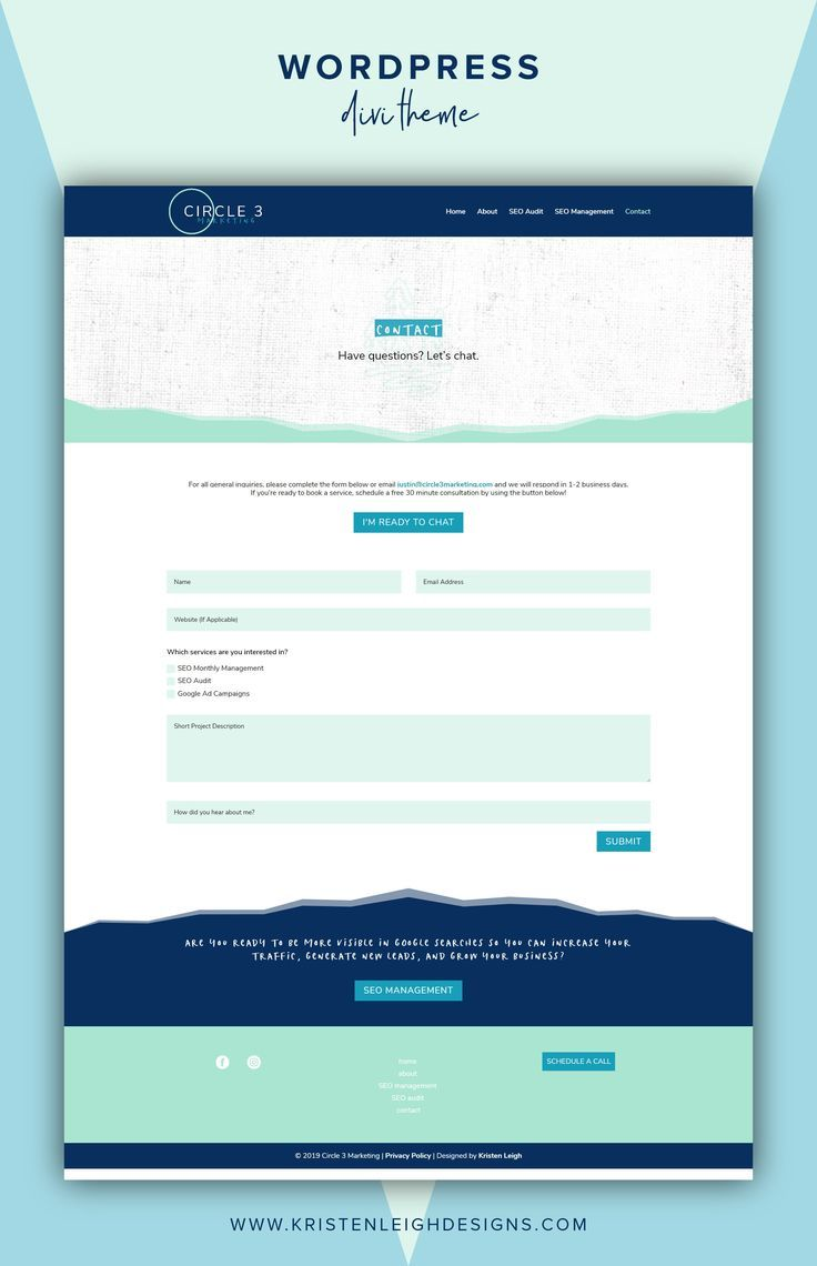 Client Spotlight Circle 3 Marketing Seo Expert Website Design Website Design Seo Marketing Website Design Layout