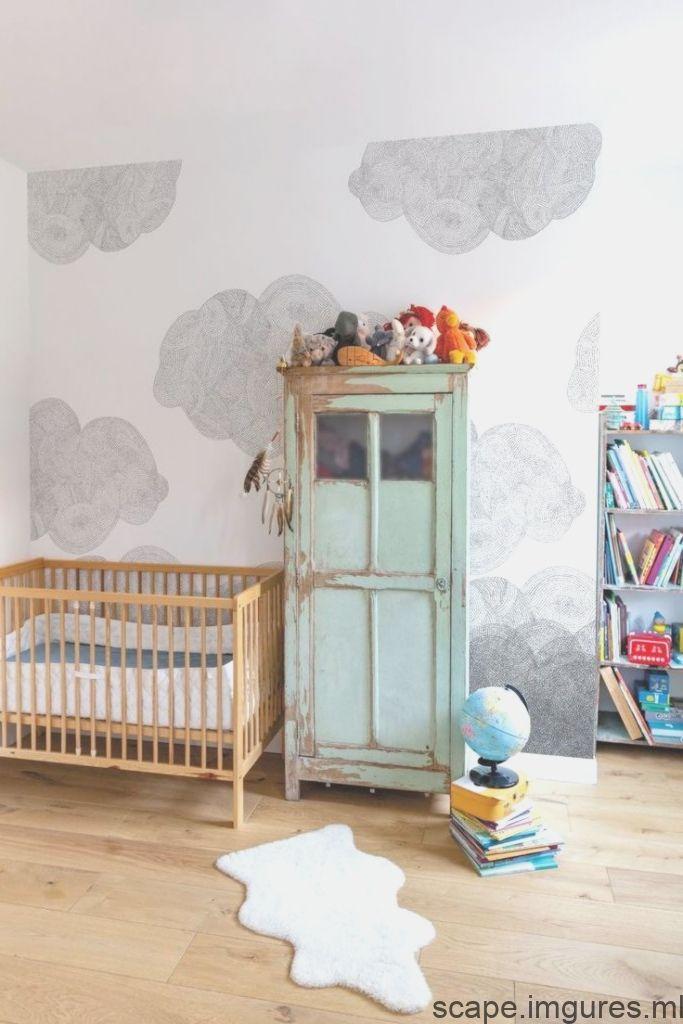 Papier Peint Chambre Enfant Modeles Pour Fille Et Garcon Cote