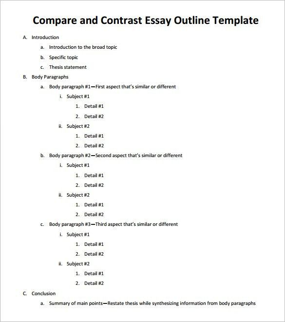 Essay Outline Writing Service Paper Get Custom Expository Template Example Of College Compare And Contrast Essays