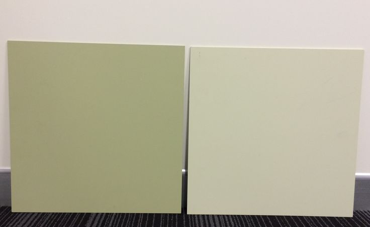 (L) Dulux New Bamboo (R) Dulux Eaves #brushoutboards from Inspirations Paint