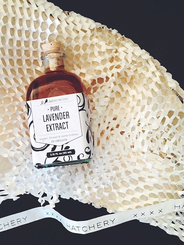 pure lavender extract, such a great addition to cakes, pies, scones or summer drinks | from @Hatchery