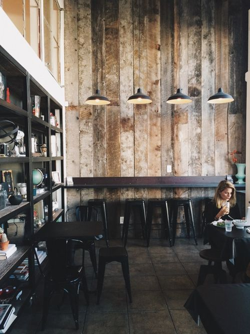 This is how I want my coffee shop to look.