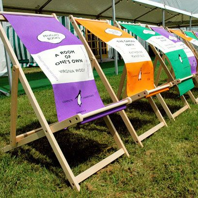 I've always wanted to got to the Hay Festival