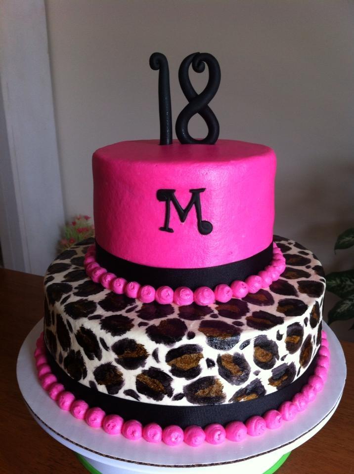 Birthday Things Birthday Bash Leopard Birthday Cake Cupcakes Ideas